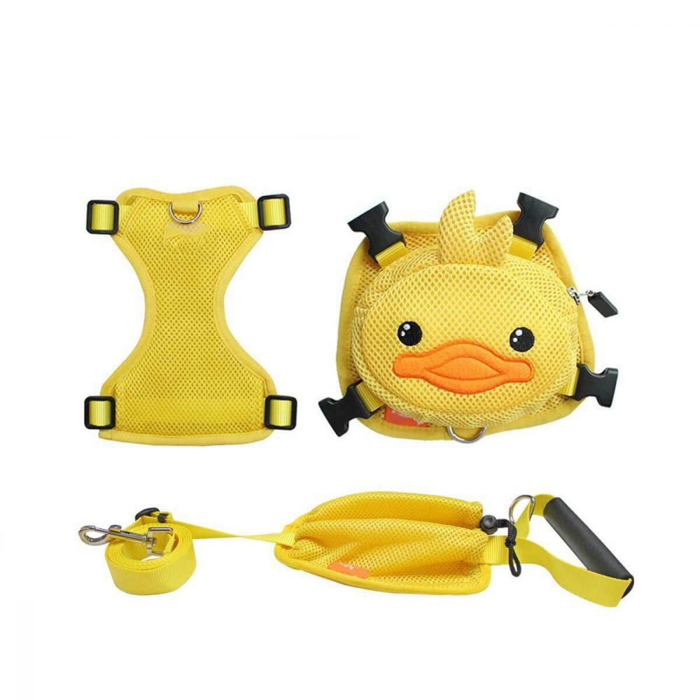Duck Backpack Harness with Leash