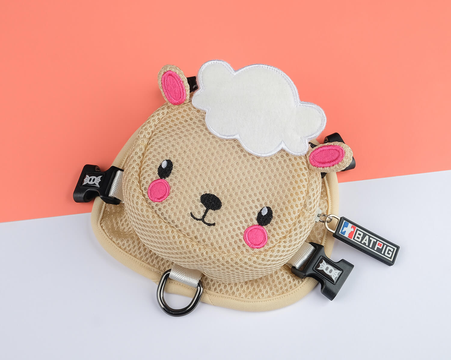 BATPIG Backpack Harness Cloudy Lamb Collection