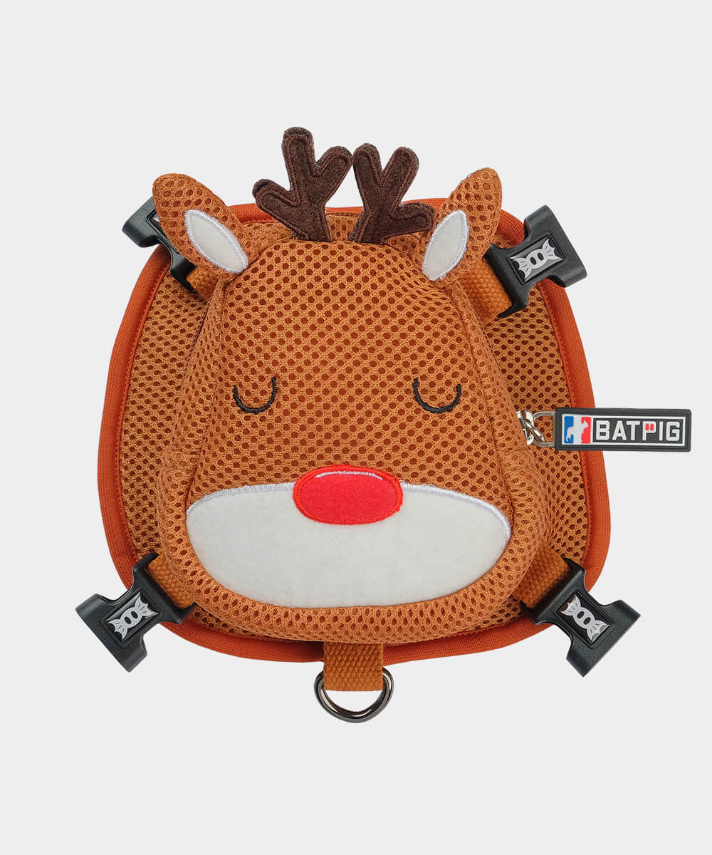 Sleeping Reindeer BATPIG Backpack Harness