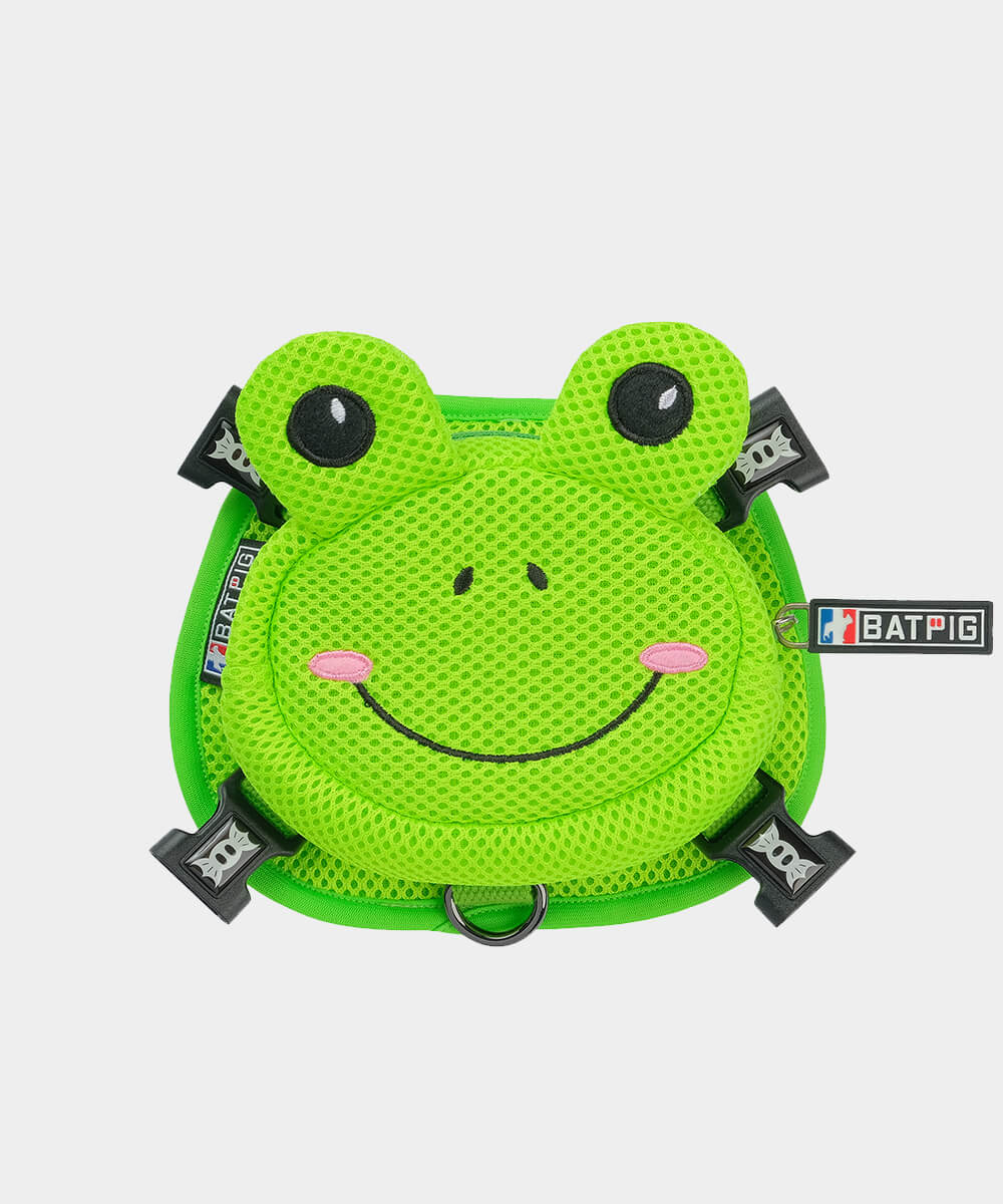 BATPIG Backpack Harness Froggy Dog