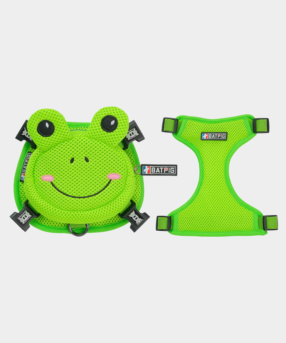 Frog Backpack Harness by BATPIG Pet Supply
