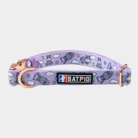 BATPIG Comfort Collar Purple Hippo